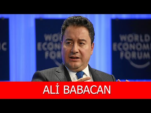 Ali Babacan Kimdir?