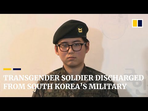Transgender Soldier Discharged From South Korea's Military