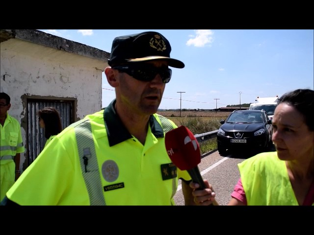 Guardia Civil explica accidente Coreses