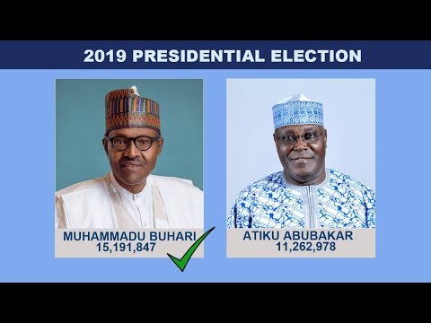 INEC Chairman Declares Buhari Winner Of 2019 Presidential Election