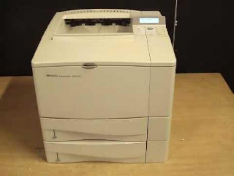 HP4050TN LASERJET DRIVER FOR PC