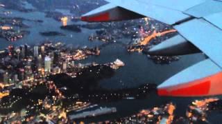 シドニー 上空からのオペラハウス Sydney Opera House from midair