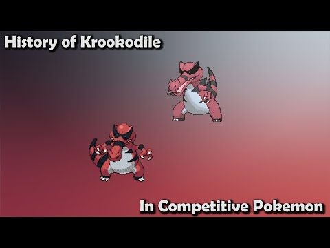 How GOOD was Krookodile ACTUALLY? - History of Krookodile in Competitive Pokemon (Gens 5-7)