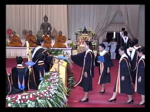 พิธีพระราชทานปริญญาบัตรแก่บัณฑิตรามฯ รุ่นที่ ๓๘ วันที่ ๖ มีนาคม ๒๕๕๖ -รอบเช้า
