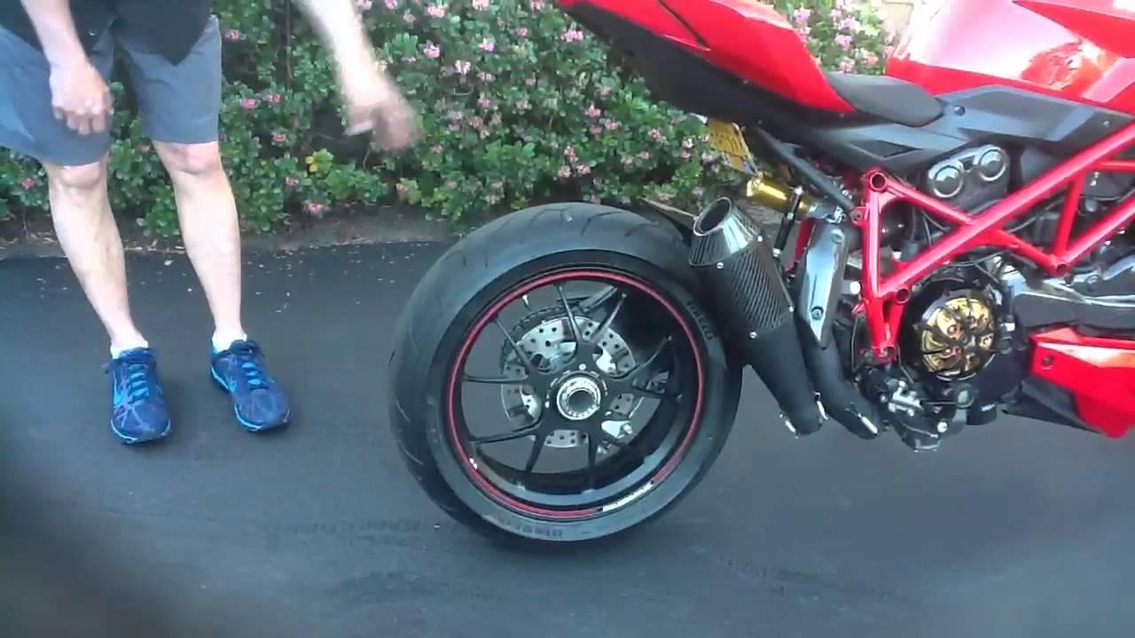Gregg's Ducati Streetfighter S 2011