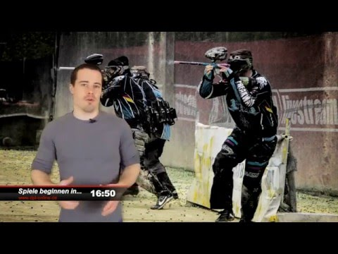Deutsche Paintball Liga - livestream 2016 - 1. Bundesliga  1. Spieltag