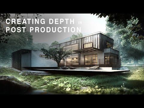 Adding depth in post production