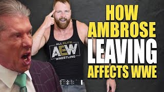 How Dean Ambrose Leaving (Quitting) Causes 5 MAJOR PROBLEMS For WWE