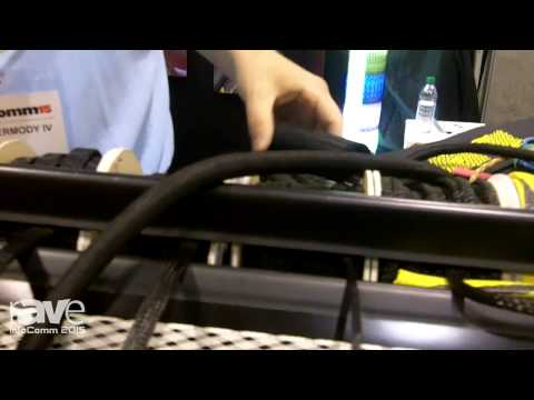 InfoComm 2015: Techflex Displays Braided Sleeving Products F6 Woven Wrap