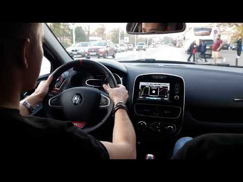 Renault Clio RS Trophy 220 Launch Control