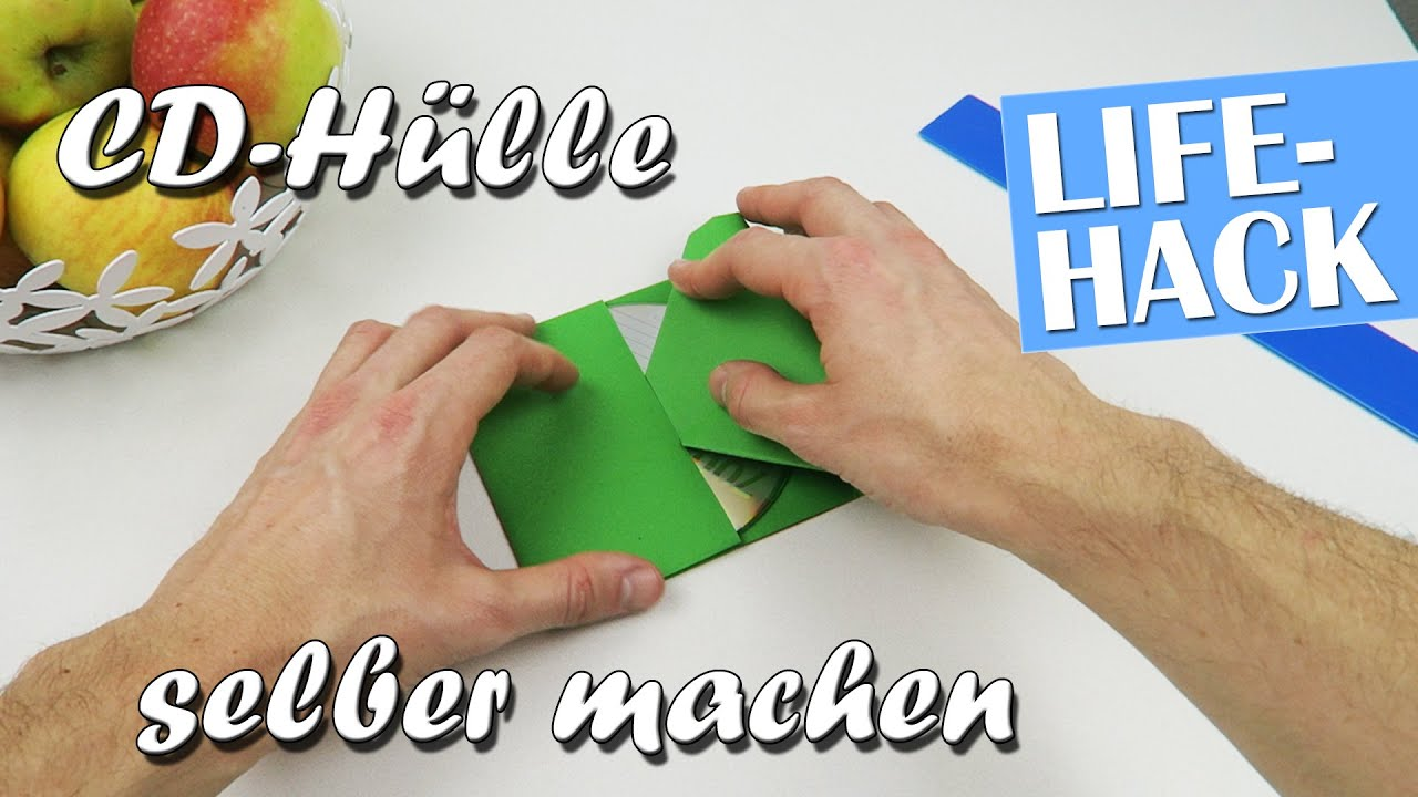 Super CD-Hülle selber machen - Lifehack - YouTube WS63