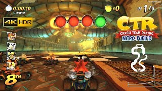 Crash Team Racing Nitro-Fueled - Sewer Speedway Track in 4K 60FPS HDR Gameplay