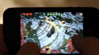 Penguin Mob Gameplay - iPhone game Minigore