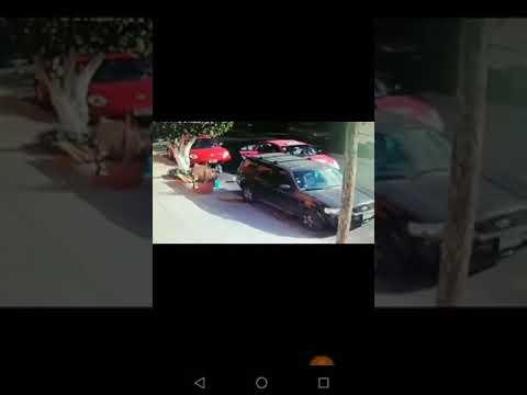 Ladrones de autopartes son identificados gracias a videos