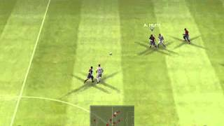 Barcelona vs liverpool pes 2009 pc demo gameplay