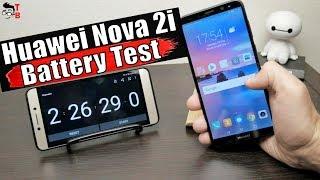 Huawei Nova 2i - Battery Drain Test and Charging Time
