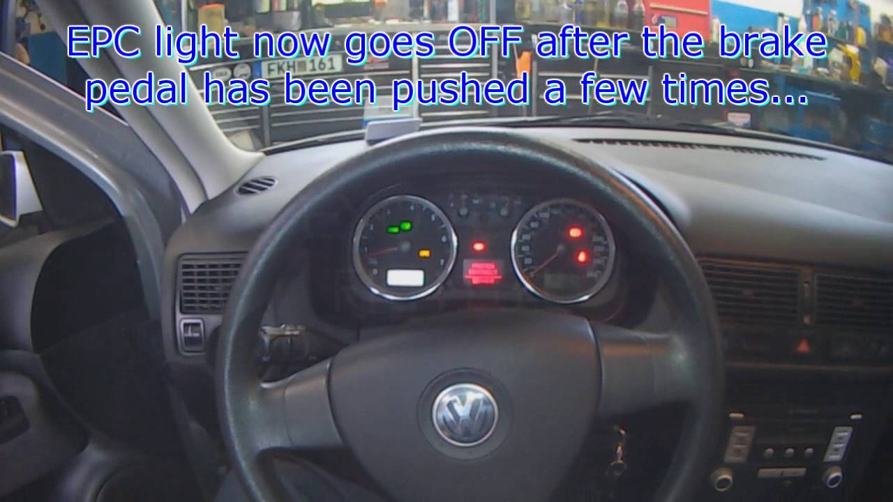 maxresdefault vw a4 epc light (brake light switch fault code) youtube 2007 VW Jetta Fuse Diagram at readyjetset.co