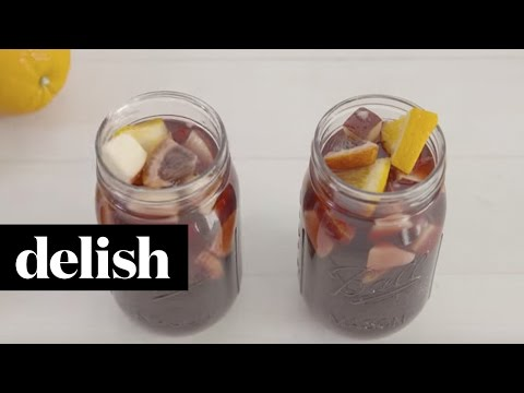 How to Make Fireball Sangria, a Dangerously Delicious Cocktail