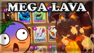 The SECOND Best Mega Deck EVER MADE- LAVA CLONE 🍊