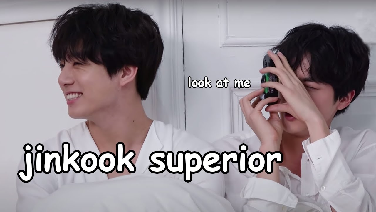 jin + jungkook being the nation's duo