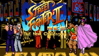 SUPER STREET FIGHTER II (NES EDITION) - PC LONGPLAY - SHENG LONG And RYU - (FULL SURVIVAL MODE)