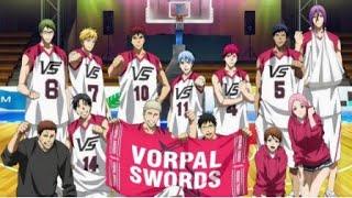 Kuroko No Basket: Last Game AMV - Vorpal Sword vs. Jabberwock (full)