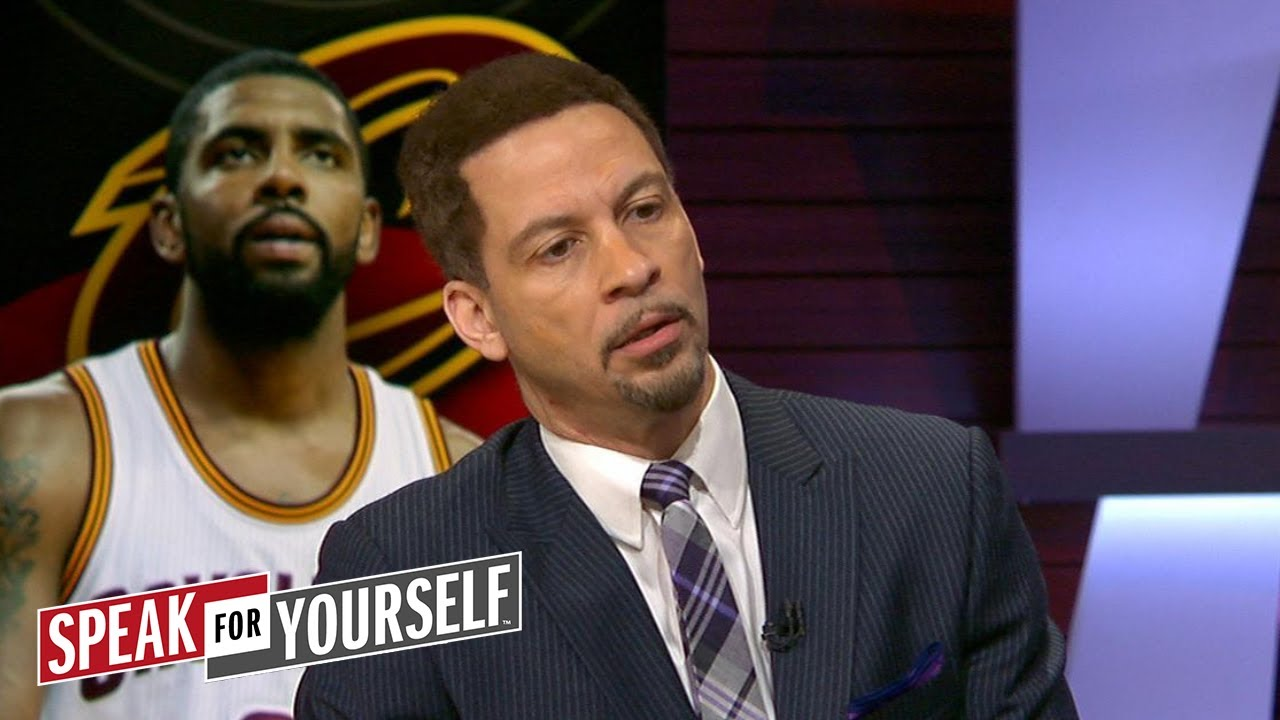 Chris Broussard on reports Kyrie threatened to sit out if Cavs didn't trade him | SPEAK FOR YOURSELF