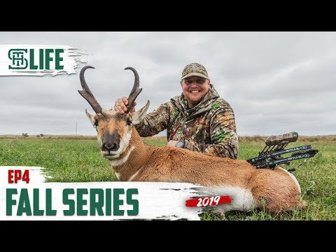 CODY AND CHRIS CALL IN AND DECOY A MONTANA ANTELOPE INTO BOWRANGE | Smalltown Life