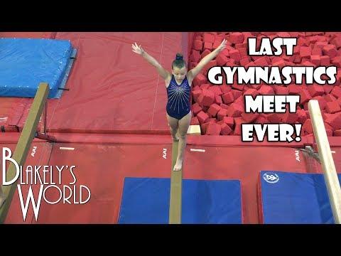 Last Gymnastics Meet