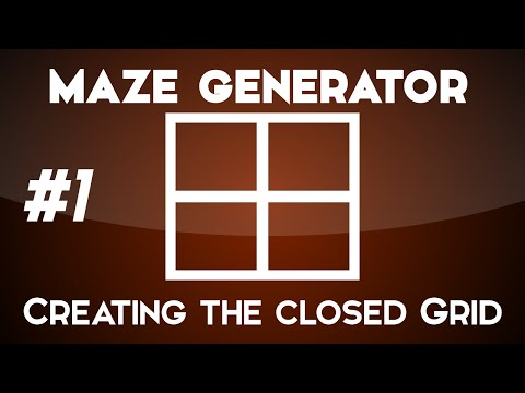 Creating a maze generator - Creating a Closed Grid - Unity