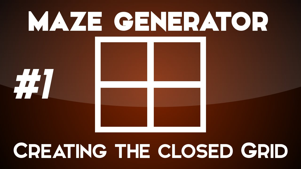 Creating a maze generator - Creating a Closed Grid - Unity 3D