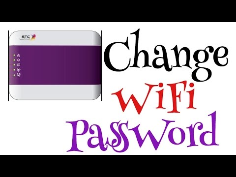 How to Change WIFI Password on STC Modem [ HomeBroadband 102,103, 006,007 ]  Internet Connection
