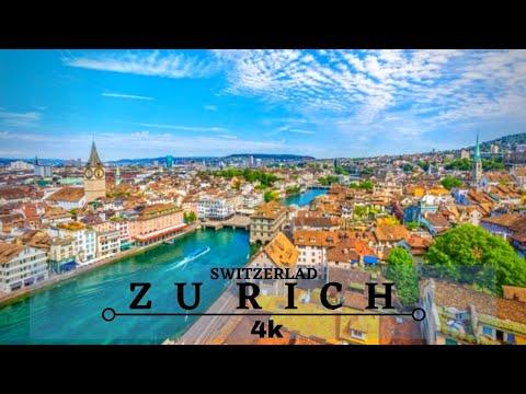 Zurich 4K / Zurich Switzerland 4K Drone / Cinematic Drone Footage
