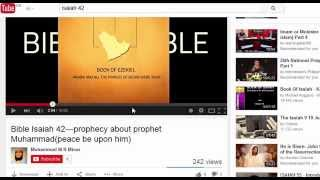 Muhammad in Prophet Isaiah book but Isaiah is not even in the Quran