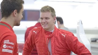 Mick schumacher tells us about his 2019 season preparation, first impressions of the formula 2 car, goals for as well staying with prema an...
