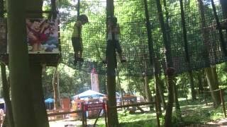 Przygoda w parku linowym dla dzieci – Malbork video