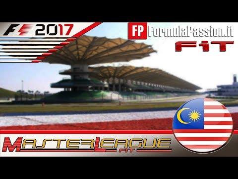Master League FormulaPassion.it F1 2017 #15 GP Malesia Kuala Lumpur 15.02.18 - Live Streaming 1080p
