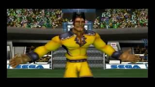Sega Soccer Slam (GameCube) Volta vs Tsunami