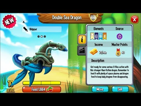 Dragon City - Aquanaut Dragon + Fighting PvP [NEW PRIMAL DRAGON]