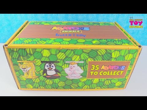 Abatons Animals Figure Packs Blind Bag Toy Opening Review | PSToyReviews