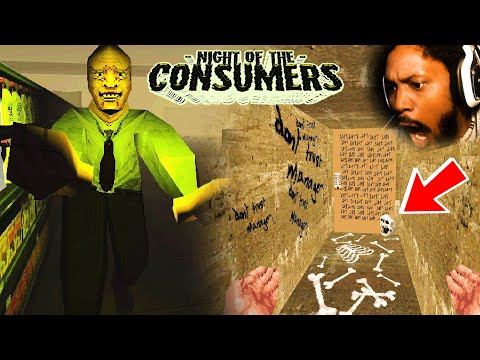 WE FINALLY BEAT THIS CURSED GAME!!11!! | Night of the Consumers (ENDING)