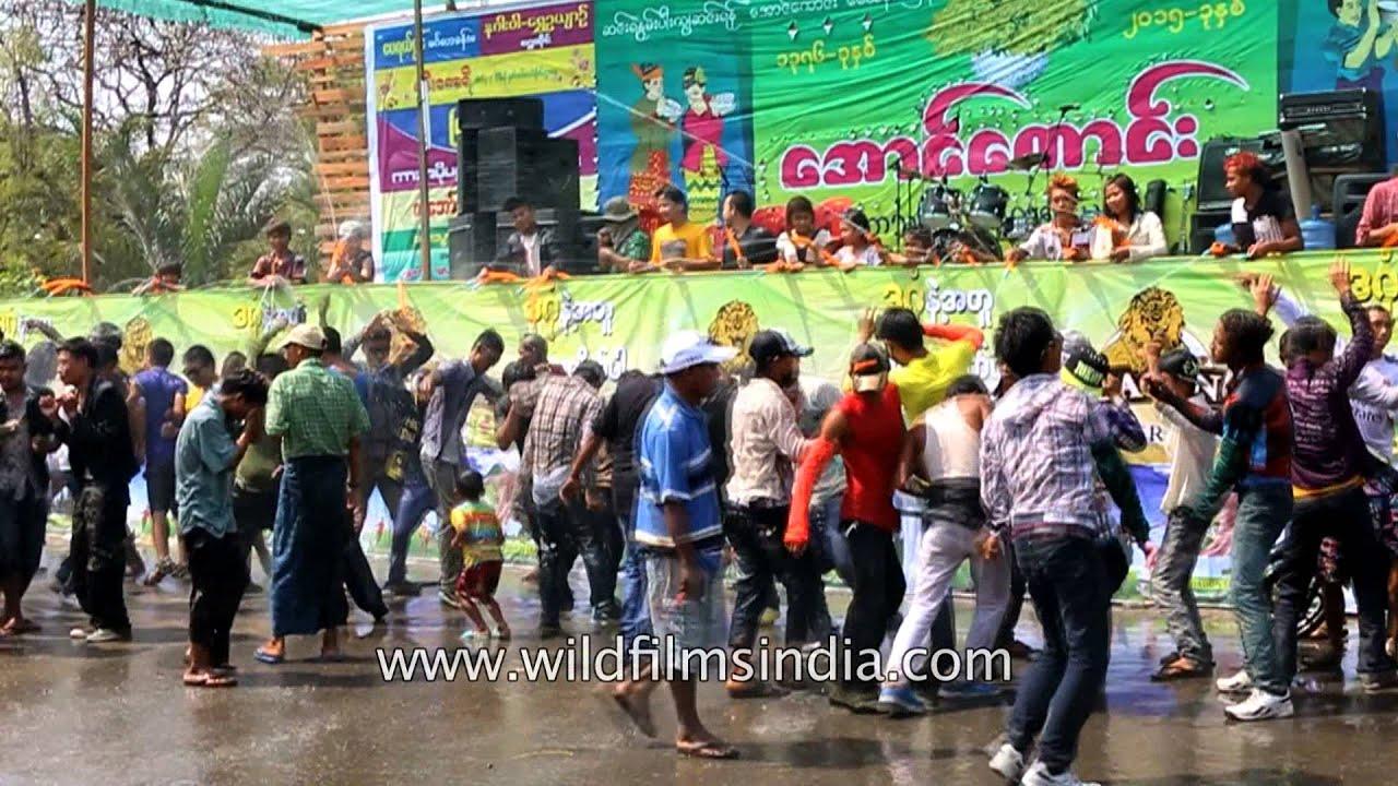 Burmese New Year - Myanmar Tours