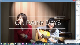 On rainy days - Tiên Cookie ( English Version ) | Cover