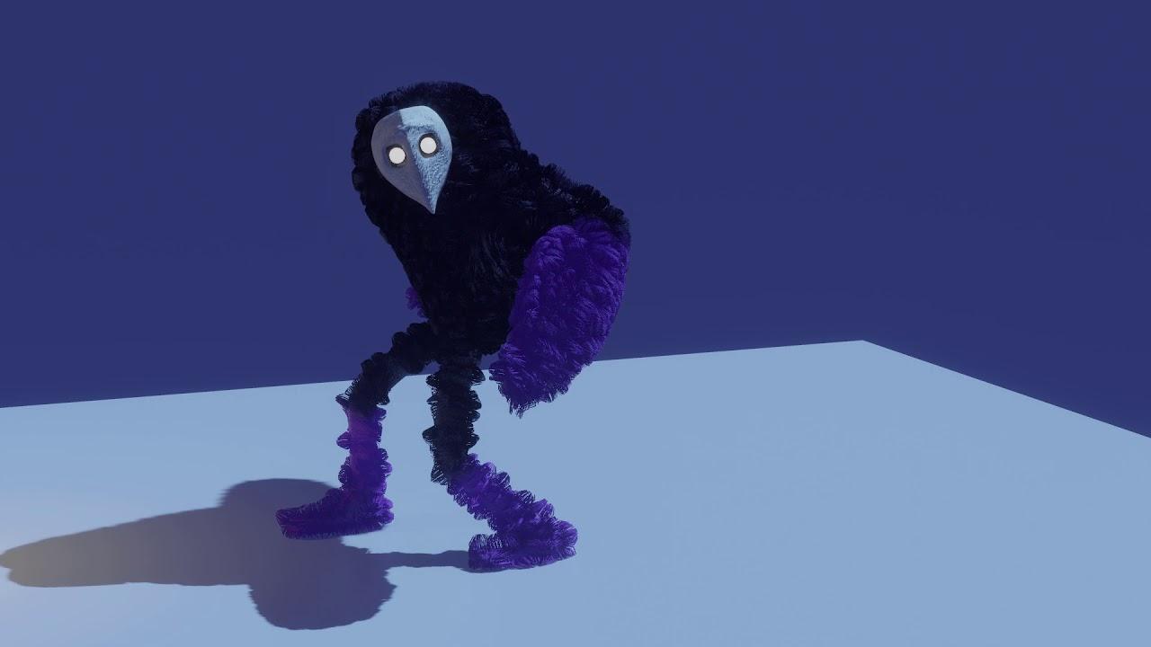 Furr and Animation test on Blender