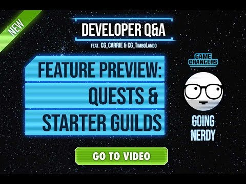 New SWGOH Features: Quests & Starter Guilds