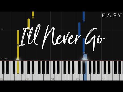 I'll Never Go - Erik Santos   EASY Piano Tutorial thumbnail