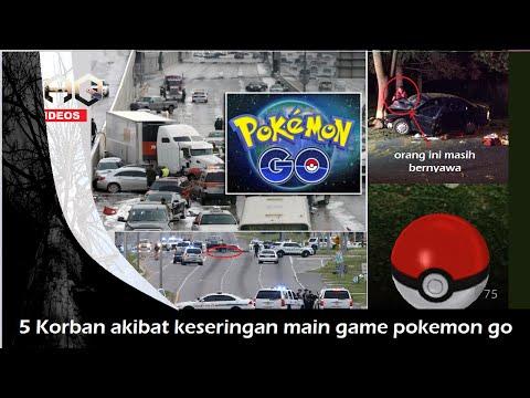 5 Korban akibat Keseringan Main Game Pokemon Go