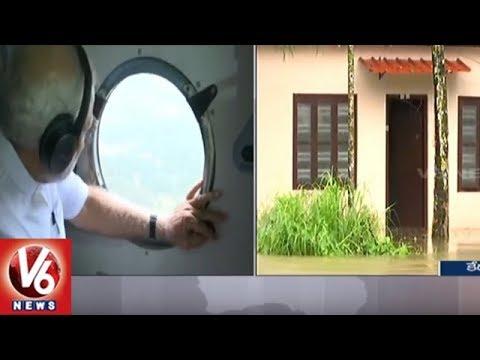 Kerala Floods  PM Modi Announces Compensation Of Rs 2 Lakh For Deceased Victims' Kin  V6 News