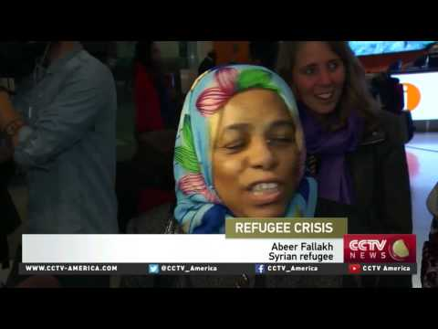 Canada shows the world it welcomes Syrian refugees