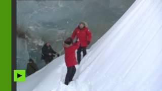 En voyage dans l'Arctique, Vladimir Poutine s'est rendu à l'archipel François-Joseph